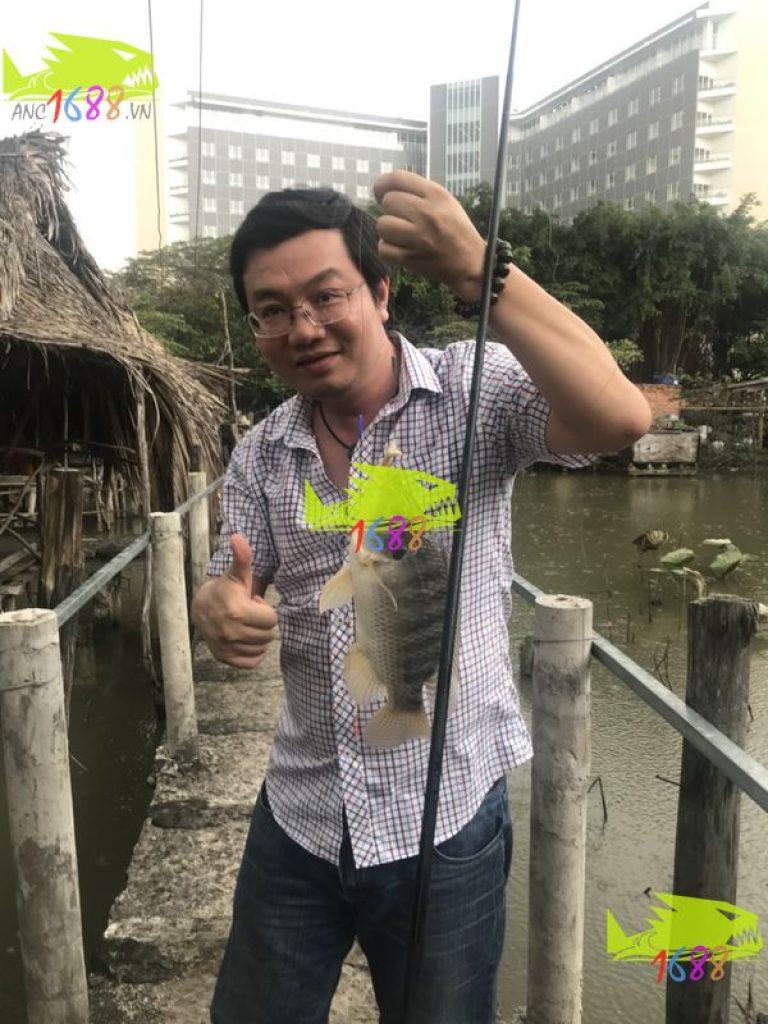 câu cá ẩm thực Ao Ba