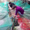 7h. Thả 72kg cá lóc lần 1  Lần 2 lúc 11h. Thả 50kg.  Tổng ngày hơn 120kg. Nhé.